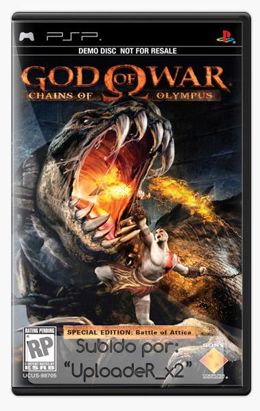 Descargar  PSP  God Of War   Chains Of Olympus   Full Espa    Ol