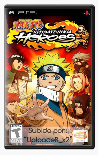 [PSP] Naruto Ultimate Ninja Heroes | Full/Español